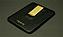 クリップ側はブラックのシボ加工レザー(全カラー共通です)