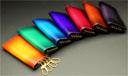 手染めキーケース・ソルティールは豊富なカラーバリエーションで、あなたのお好みに応えます。